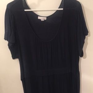 Navy empire waist dress size 1X